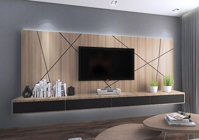 mueble tv para hotel fenólico