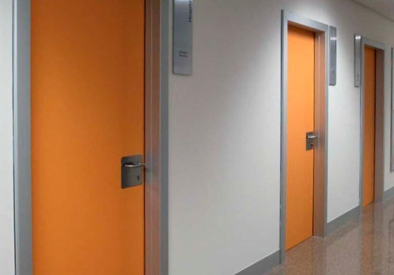 Puertas fenólicas HPL para interiores