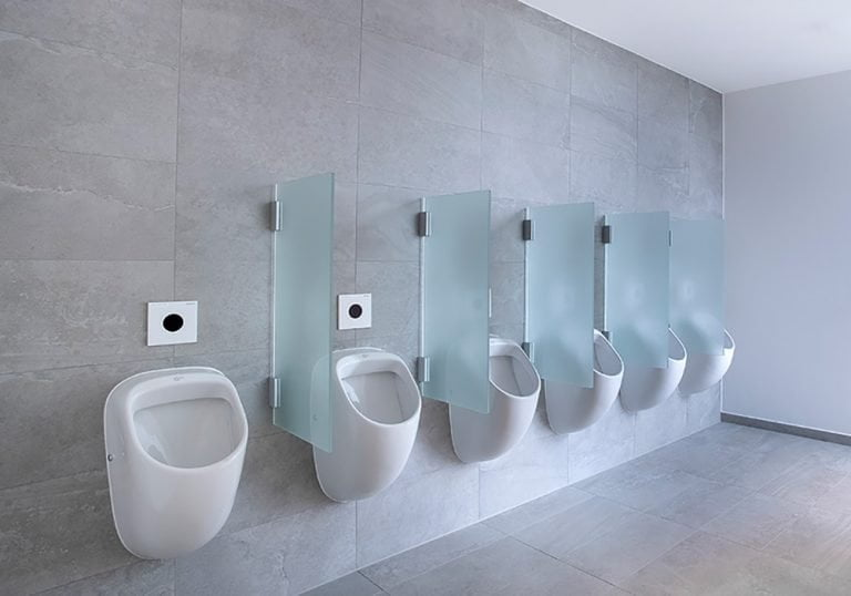Separadores de vidrio para urinarios
